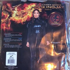 Halloween/CosPlay Mockingjay Katniss costume